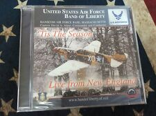 United States Air Force Band of Liberty Tis The Season CD NEW