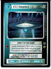 STAR TREK CCG THE MOTION PICTURES RARE CARD U.S.S. ENTERPRISE-A
