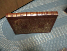 The Essays of Sir Francis Bacon, Easton Press, 1980 leather bound  VG+