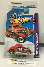 '34 Ford 3-Window #189 * Red Kmart * 2013 Hot Wheels * E21