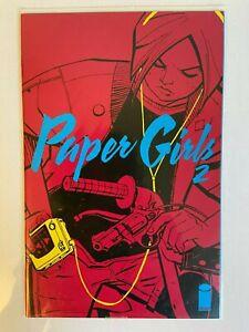PAPER GIRLS #2 (2015) IMAGE COMICS 1ST PRINT! BRIAN K VAUGHAN NM Optioned