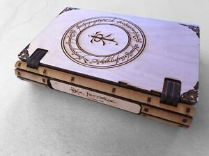Lord of the Rings - One Ring to Rule Them - Tolkien Book Box.   Unusual Keepsake