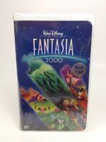 Fantasia VHS Movie Clamshell Sealed Mickey Mouse New 2000 Walt Disney