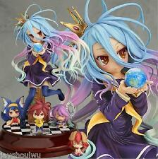 No game no life Imanity Shiro 1/7 Japan Anime Pvc Figure PC Case Diy Toys