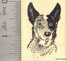 Australian Cattle Dog Rubber Stamp (Blue Heeler) E14612 Wm