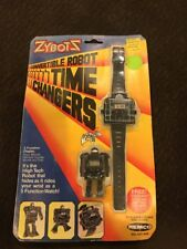 Vintage 1984 ZYBOTZ ZYBOTS TIME CHANGERS Robot Watch from REMCO *NEW & SEALED*