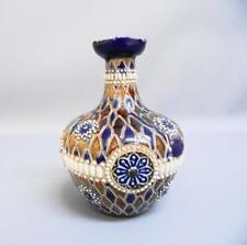 Doulton Lambeth stoneware Oil Flagon/Vinaigrette by Elizabeth Atkins 1882-1891