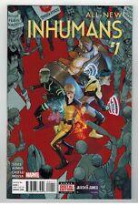All- New Inhumans #1 - Stefano Caselli Art & Cover - Marvel Comics - 2015