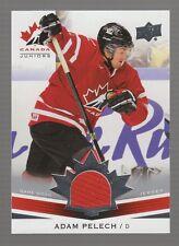 (55206) 2014-15 Upper Deck Team Canada Juniors Adam Pelech Jersey #151