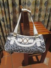 womens GUESS signature shoulder or hand carry style handbag bag