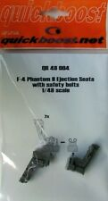 Quickboost 1/48  F-4 Phantom II Ejection Seats with Safety Belts # 48004