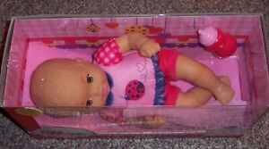 New Mattel 2016 Little Mommy Baby Doll Cloth Vinyl Baby So New Nice 1st Doll HTF