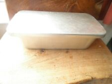 Vintage aluminium BS tin with lid