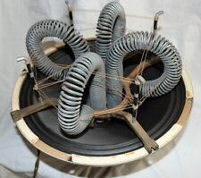 """Baldwin HR RARE Magnavox 15"""" Field Coil Speaker 1D3537 REVERB unit on Speaker"""