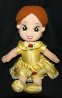 "DISNEY BEAUTY & THE BEAST ~ BELLE 12"" PLUSH Take-a-long FISHER PRICE"