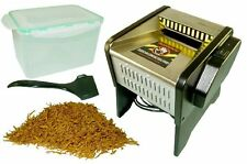 Powermatic S Tobacco Shredder Machine Shredding Your Own Whole Leaf Tobacco