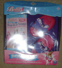 Bella Dancerella Tap is a snap Mat tap shoes and VHS Spin Master Girls dance set