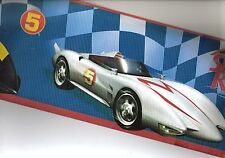 SPEED RACER CARS PRIMARY COLORS WALLPAPER BORDER BT2791B