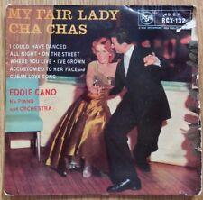 "Eddie Cano - My Fair Lady Cha Chas - RCA RCX-132 -7"" Single EP 1958"
