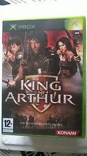 MICROSOFT XBOX KING ARTHUR : THE MOVIE KONAMI