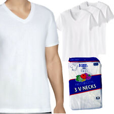 Fruit of The Loom Men's 3 Pack Dual Defense V-Neck T-Shirts