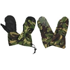 British Army DPM Camo Goretex Cold Weather Winter Lined Mitts and Outer Mittens