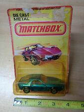 Vintage Lesney Matchbox PORSCHE 928 GREEN #59 England 1979 Superfast model car >
