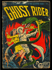Ghost Rider #7 Golden Age Magazine Enterprises Comic 1952 FR