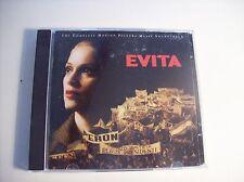 EVITA Complete Motion Picture Music Soundtrack cd 1996
