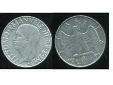 ITALIE  ITALY  1 lire 1940  ( non  magnetic  )   ( bis )