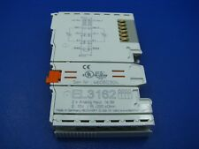 Beckhoff Ethercat 2 Channel Analog Supply Terminal  EL3162 NEW