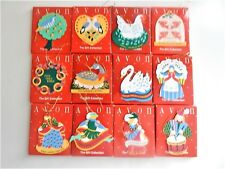 """Avon The Gift Collection """"12 DAYS OF CHRISTMAS"""" ORNAMENTS SET --12 ORNAMENTS"""