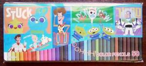 Disney Toys Story 50 Colors Colored Pencil Characters Color Toy Iroenpizu