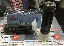 COD.MK0 COPPIA MANOPOLE NERE NO DOMINO KAWASAKI ZRX1200R