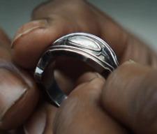 Black Panther Ring Movie Prop Shiny Jewellery Wakanda Superhero Metal New