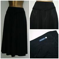 New C&A Ladies Plus size Black Skirt with black Tie Belt 16, 18, 22, 24, 26