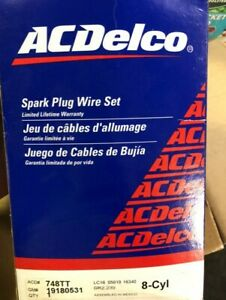 ACDelco Spark Plug Wire Sets 19180531 - 748TT