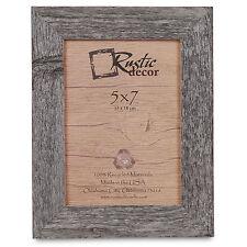 "5x7 - 1.25"" Wide Standard Reclaimed Rustic Barn Wood Photo Frame"