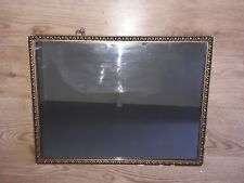 Gold Rectangular Wall Mounted Mirror
