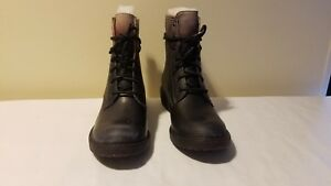 Brand New Lucky brand Leather Lace-Up Boot 6M /36