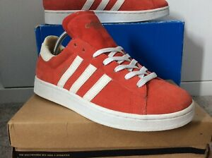 Adidas Campus Vintage OG 2002 Release Uk 9.5 US 10 Classic Cw Red Suede With Box