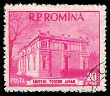Scott # 1038 - 1955 - ' Theodor Aman Museum '