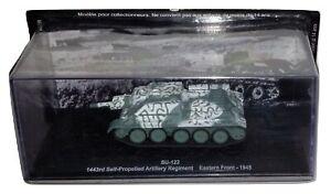 Altaya Tank SU-122 Self-Propelled Artillery Rgt 1945 1/72 Diecast