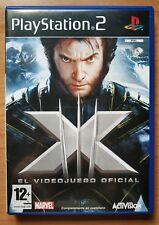 X Men, videojuego oficial Para Ps2