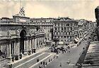 Cartolina - Postcard - Roma - Via Nazionale - auto d'epoca - anni '50
