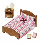 Sylvanian Families bedroom semi-double bed From Japan