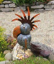 Handgearbeitete Gartenfiguren & -skulpturen aus Metall mit Vögel-Motiv