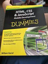Html, Css, and JavaScript Mobile Development + Php, MySql, Js Html5 for Dummies