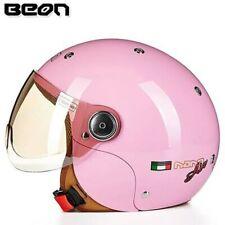 BEON Children Cartoon Motorcycle Helmets Open Face Girls Boys ECE Helmet 52-54cm
