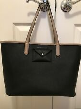 MARC BY MARC JACOBS Large Metropolitote Color Blocked Tote Black/Taupe